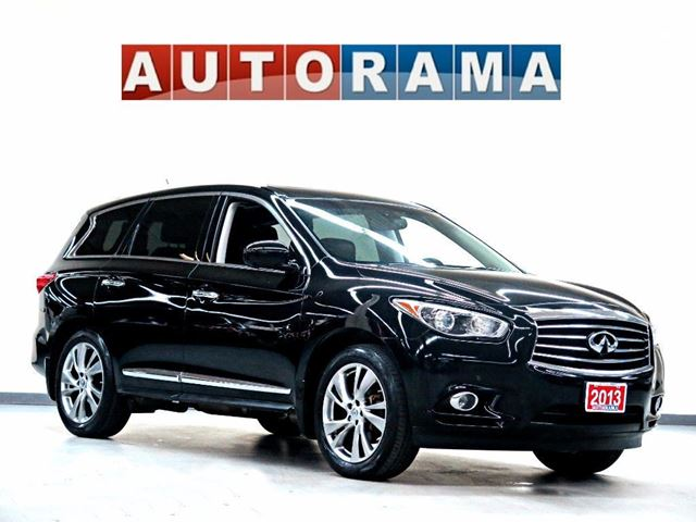 2013 Infiniti JX LEATHER SUNROOF 4WD 7 PASSENGER in North York, Ontario