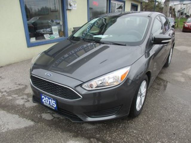 2015 Ford Focus GAS SAVING SE EDITION 5 PASSENGER 2.0L - DOHC.. in Bradford, Ontario