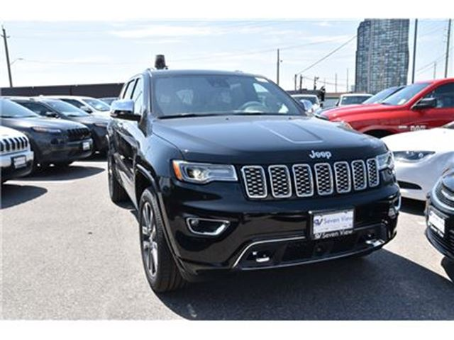 2017 jeep grand cherokee overland concord ontario car for sale 2761788. Black Bedroom Furniture Sets. Home Design Ideas
