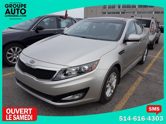 2011 Kia Optima LX + TOIT OUVRANT in Longueuil, Quebec