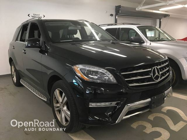 2013 Mercedes-Benz M-Class 4MATIC 4dr ML350 BlueTEC in Vancouver, British Columbia