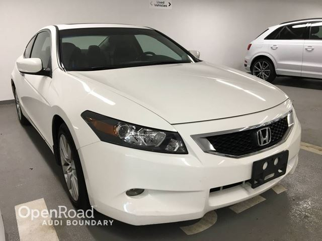 2008 Honda Accord 2dr V6 Auto EX-L w/Navi in Vancouver, British Columbia