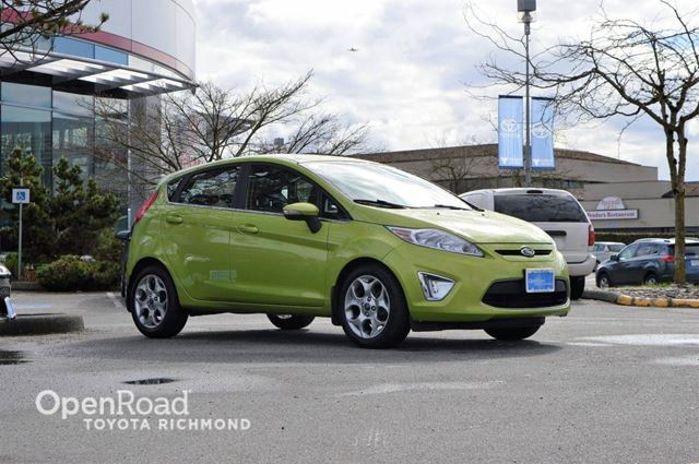 2012 Ford Fiesta 5dr Hatch Back w/ Leather Interior, Heated Fron in Richmond, British Columbia