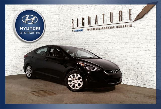 2014 Hyundai Elantra GL+A/C+MAGS+GROUPE n++LECTRIQUE in Sainte-Agathe-Des-Monts, Quebec