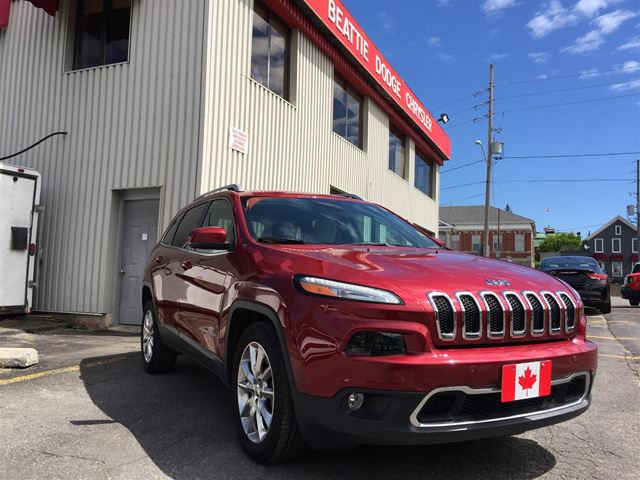 2016 Jeep Cherokee Limited in Brockville, Ontario