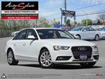2013 Audi A4 Quattro AWD ONLY 43K! **CLEAN CARPROOF** LIGHTS PKG in Scarborough, Ontario
