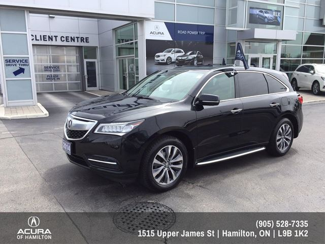 2014 Acura MDX Technology Package Tech Package in Hamilton, Ontario