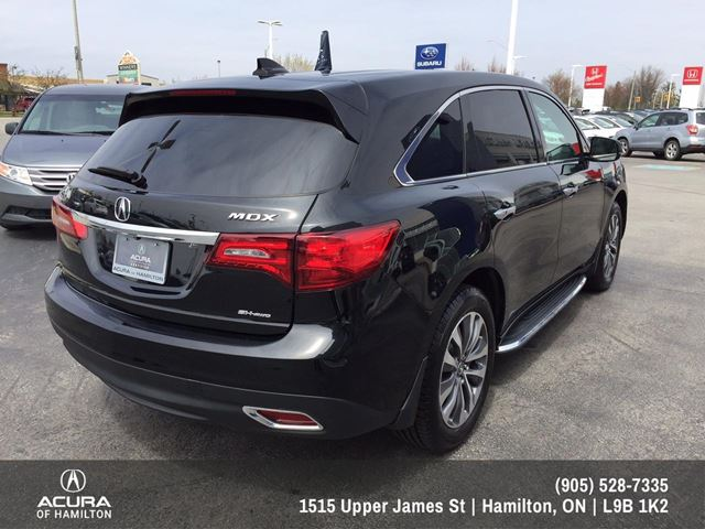 2014 acura mdx technology package tech package black acura of hamilton the spec. Black Bedroom Furniture Sets. Home Design Ideas