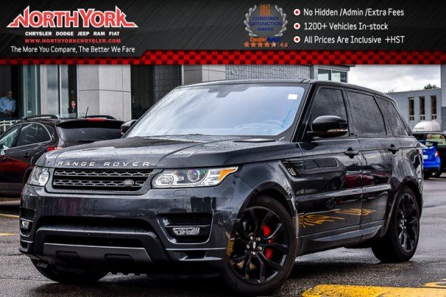 2016 Land Rover Range Rover Sport V8 Supercharged in Thornhill, Ontario