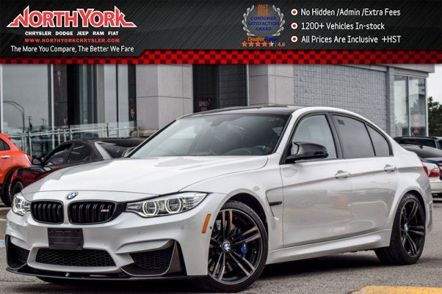 2015 BMW M3 Manual Premium,Executive,M Performance Carbon Pkgs Nav Leather 19Alloys in Thornhill, Ontario