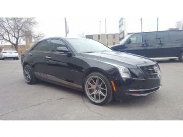 2015 Cadillac ATS 2.0L TURBO LUXURY AWD in Mississauga, Ontario