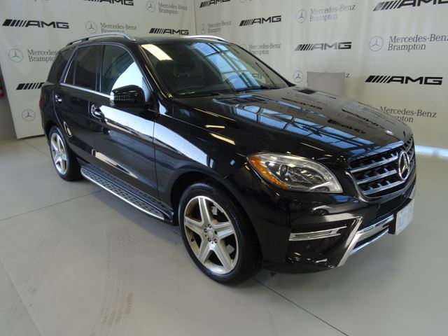 2015 Mercedes-Benz M-Class 4MATIC 4dr ML350 BlueTEC in Mississauga, Ontario