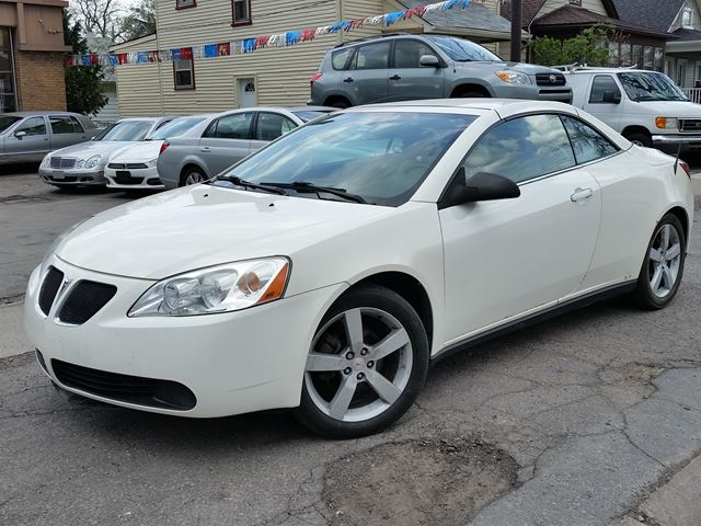 2007 PONTIAC G6 GT Hard Top Convertible Bluetooth in St Catharines, Ontario