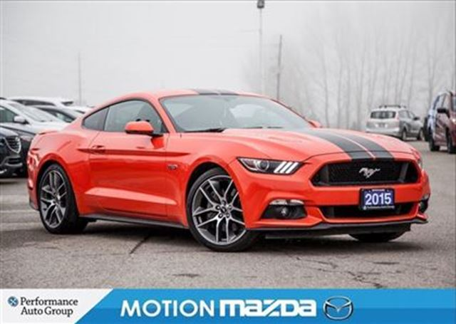 2015 FORD MUSTANG GT Leather Navi Remote Start in Orangeville, Ontario