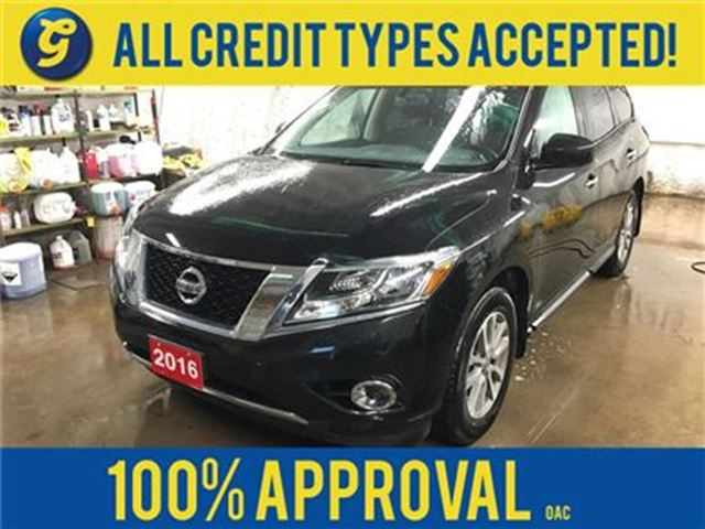 2016 Nissan Pathfinder SV*4WD*7 PASSENGER*BACK UP CAMERA W/SENSORS*BLUETO in Cambridge, Ontario