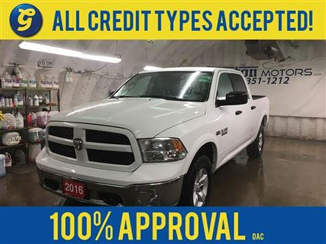 2016 Dodge RAM 1500 CREW CAB*OUTDOORSMAN*4WD*HEMI*FENDER FLARES*PLASTI in Cambridge, Ontario