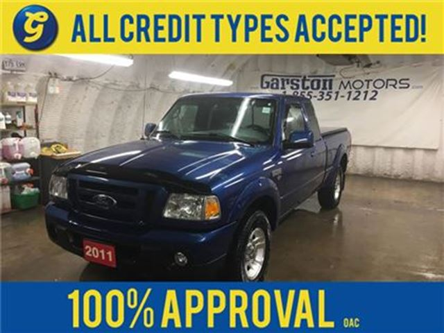 2011 Ford Ranger SPORT*SUPER CAB*V6 4.0L*TONNEAU COVER*ALLOYS*MANUA in Cambridge, Ontario