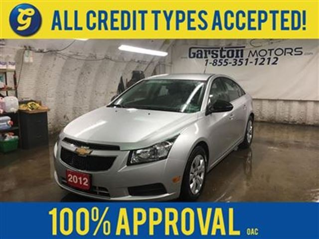 2012 Chevrolet Cruze KEYLESS ENTRY*CRUISE CONTROL*ON STAR PHONE CONNECT in Cambridge, Ontario