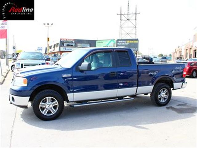2007 Ford F-150 XLT 4X4 5.4L V8 EXT CAB-VERY CLEAN in Hamilton, Ontario