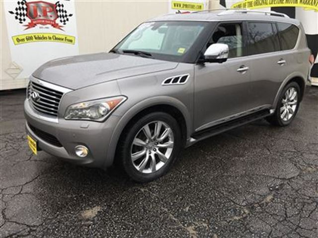 2011 Infiniti QX56 Automatic, Navigation, Back Up Camera, 4*4 in Burlington, Ontario