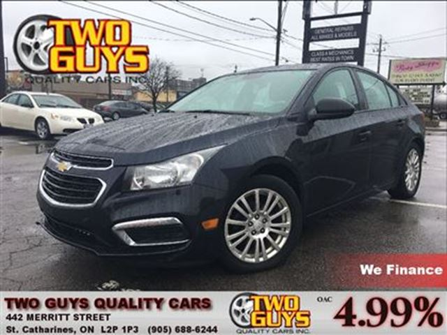 2015 Chevrolet Cruze LS 1LS KEYLESS ENTRY in St Catharines, Ontario