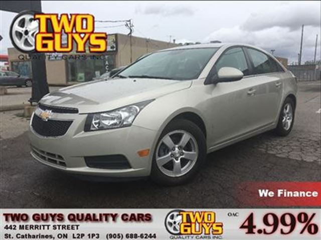 2014 Chevrolet Cruze 2LT  LEATHER BACK UP CAMERA in St Catharines, Ontario
