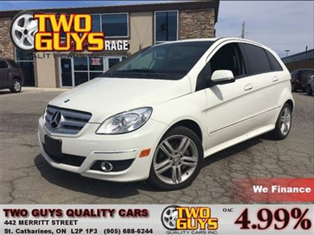 2011 Mercedes-Benz B-Class B200 MOON ROOF LOW KMS!! in St Catharines, Ontario
