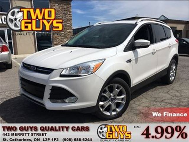 2014 Ford Escape Titanium NAVIGATION LEATHER MOON ROOF in St Catharines, Ontario
