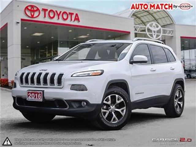 2016 JEEP CHEROKEE Limited in Barrie, Ontario