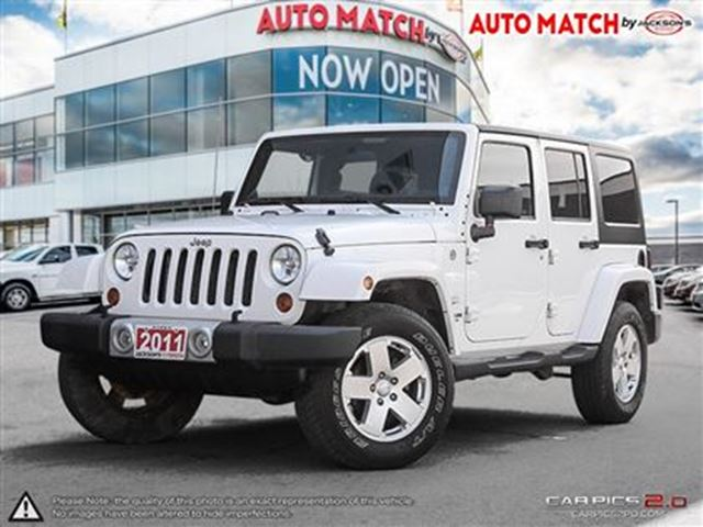 2011 JEEP WRANGLER Unlimited Sahara in Barrie, Ontario