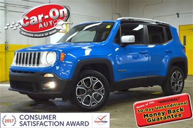 2015 Jeep Renegade Limited 4x4 LEATHER in Ottawa, Ontario