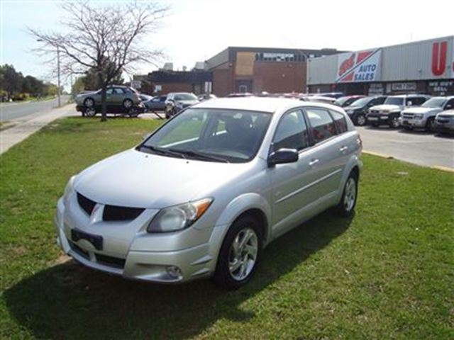 2004 Pontiac Vibe ~ ALLOY WHEELS ~ ALL POWER OPTIONS ~ CERTIFIED ~ in Toronto, Ontario