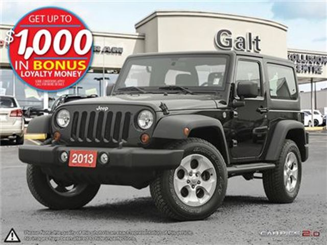 2013 JEEP WRANGLER SPORT   ONLY $188 BI-WEEKLY* in Cambridge, Ontario