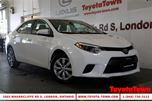 2014 Toyota Corolla SINGLE OWNER LE HEATED SEATS & BACKUP CAMERA in London, Ontario