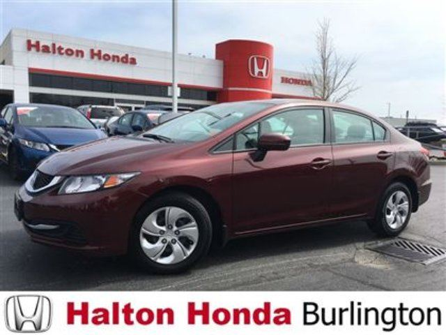 2014 Honda Civic LX in Burlington, Ontario