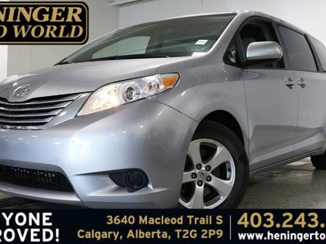 2016 Toyota Sienna LE 8 Pass V6 6A in Calgary, Alberta