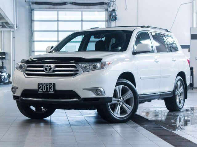 2013 Toyota Highlander Sport V6 4WD w/Leather in Kelowna, British Columbia