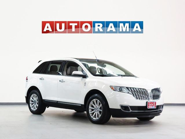 2013 Lincoln MKX NAVIGATION LEATHER PANOM SUNROOF 4WD in North York, Ontario