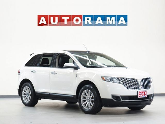 2013 Lincoln MKX NAVIGATION LEATHER AWD PANORAMIC SUNROOF BACK U in North York, Ontario