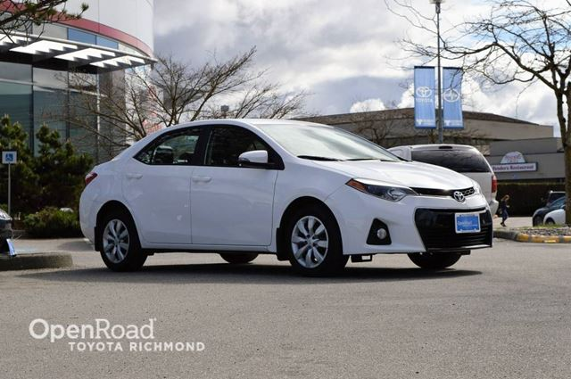 2015 Toyota Corolla Leather Interior, Heated Front Seats, Bluetooth in Richmond, British Columbia