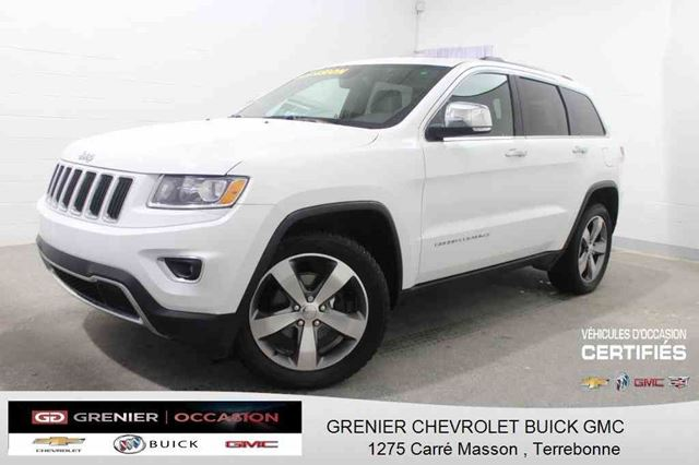 2014 Jeep Grand Cherokee Limited 4X4 *GPS + CUIR + TOIT OUVRANT* in Terrebonne, Quebec