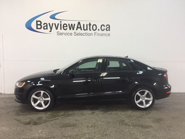 2016 AUDI A3 - TURBO! AWD! ALLOYS! ROOF! LEATHER! BLUETOOTH! in Belleville, Ontario