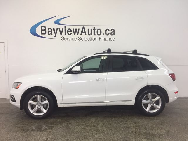 2016 AUDI Q5 - AWD! TURBO! HEATED LEATHER! BLUETOOTH! in Belleville, Ontario