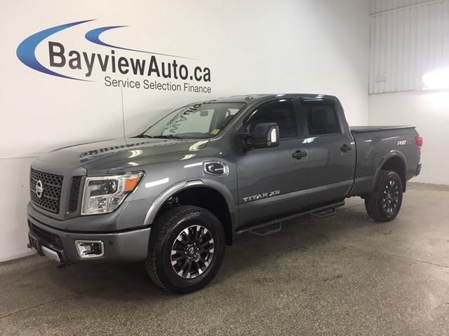2016 NISSAN TITAN XD PRO 4X- CUMMINS! HITCH! REM START! NAV! 4200 KM! in Belleville, Ontario