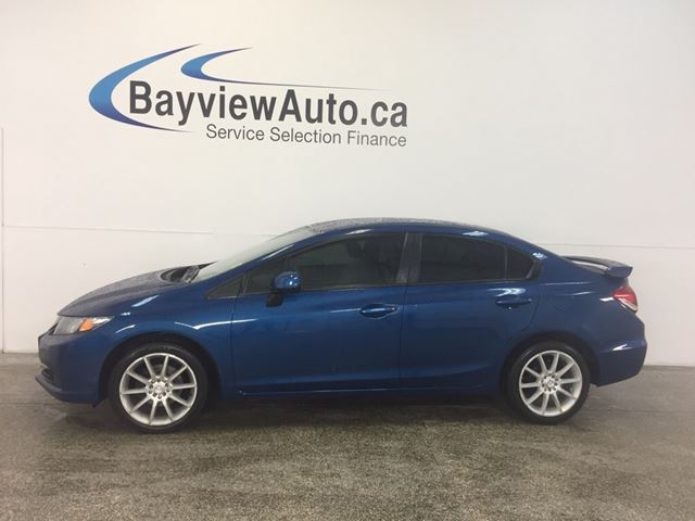 2013 Honda Civic LX - AUTO! ALLOYS! TINT! A/C! BLUETOOTH! in Belleville, Ontario