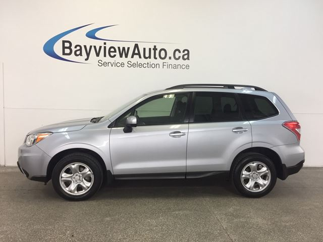 2016 Subaru Forester - AWD! HEATED SEATS! REV CAM! BLUETOOTH! in Belleville, Ontario