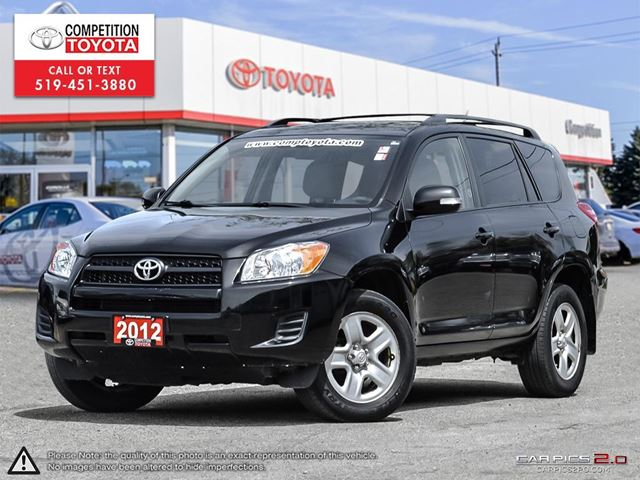 2012 Toyota RAV4 Base One Owner, No Accidents in London, Ontario