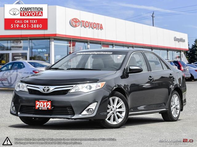 2012 Toyota Camry XLE V6 One Owner, Toyota Serviced in London, Ontario