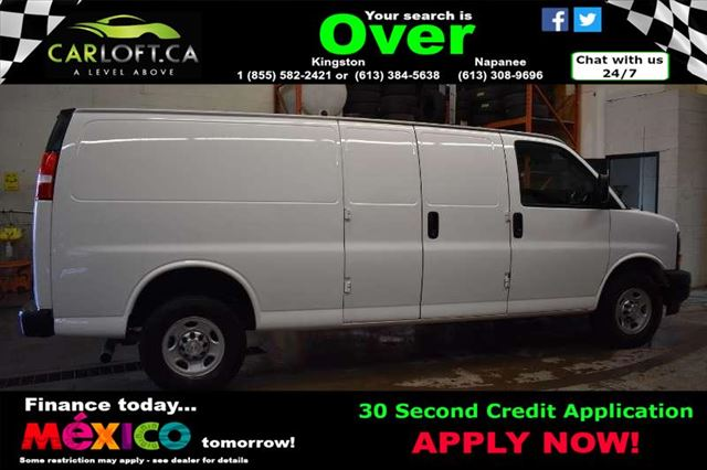 2017 CHEVROLET EXPRESS CARGO VAN - LOW KMS**AUX**TINTED WINDOWS in Kingston, Ontario
