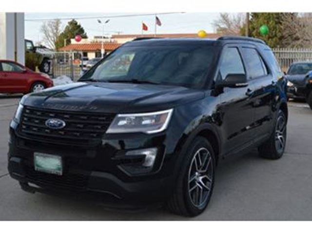 2016 FORD EXPLORER Sport AWD in Mississauga, Ontario